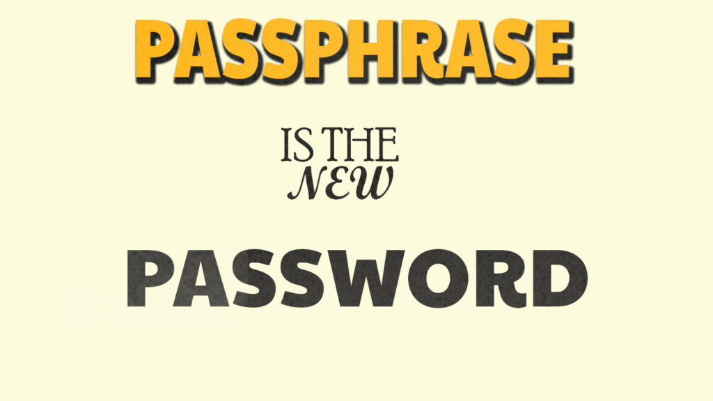 How to create Strong Passwords and remember them.