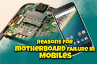 Reasons for motherboard failure in Mobiles