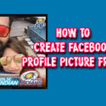 create Facebook profile picture frame