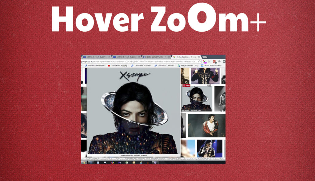 Hover Zoom+ is the best chrome extension for better browsing experience.